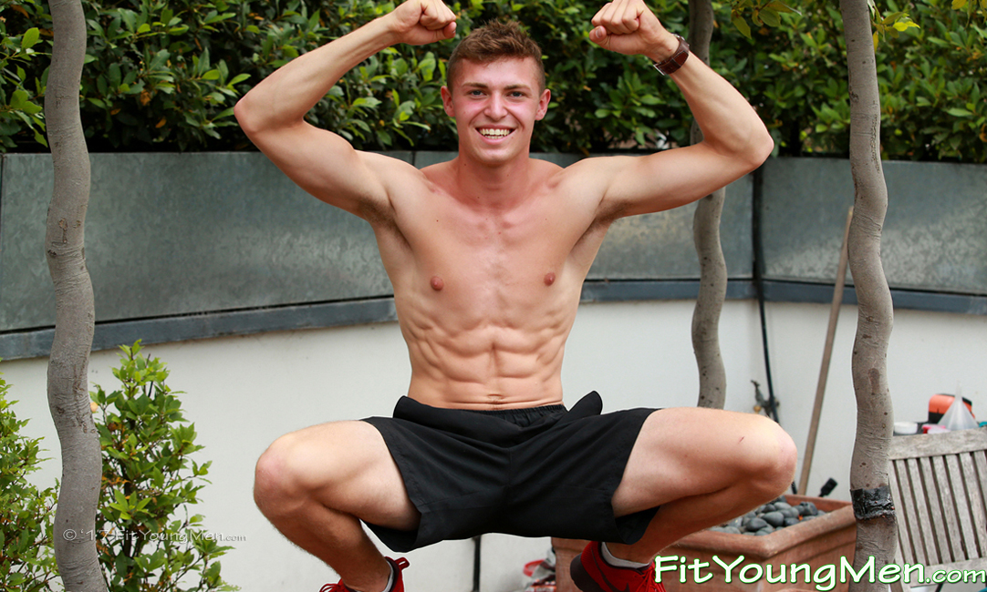 Meet Otto a Super Confident & Tall 18yo With Ultra Ripped Body