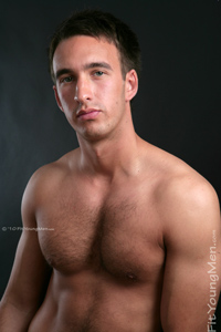 Fit Young Men Model Phil Connor Naked Sprinter