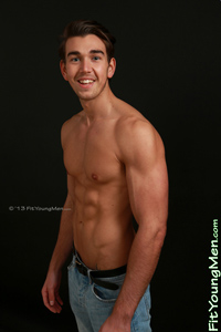 Fit Young Men Model Will Templeton Naked Personal Trainer