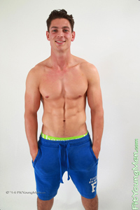 Fit Young Men Model Paul Smith Naked Personal Trainer