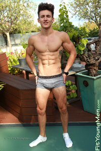 Fit Young Men: Travis Banfield