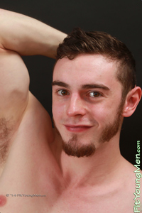Fit Young Men Model Greg McEwan Naked Climber