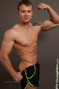Fit Young Men: Tomas Nowak