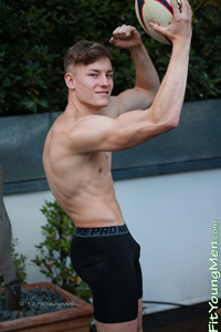Fit Young Men: Martin Aspey