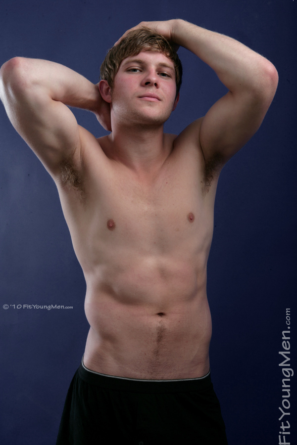 Fit Young Men Model Darren Chambers Naked Canoeist