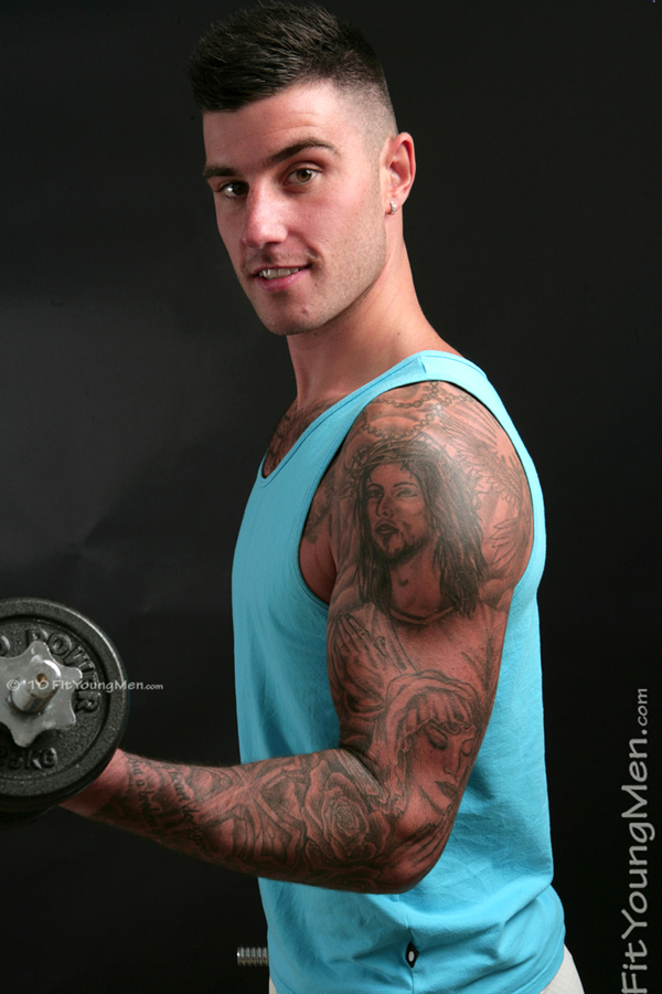 Wade jackson fit young men ripped sportsmen in and out for Tattoo shops in buford ga