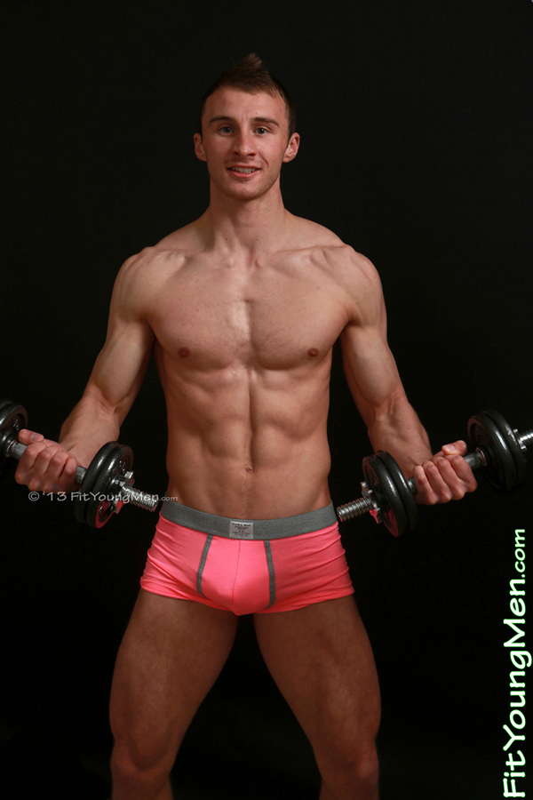 Fit Young Men Model Joel Hamble Naked Personal Trainer