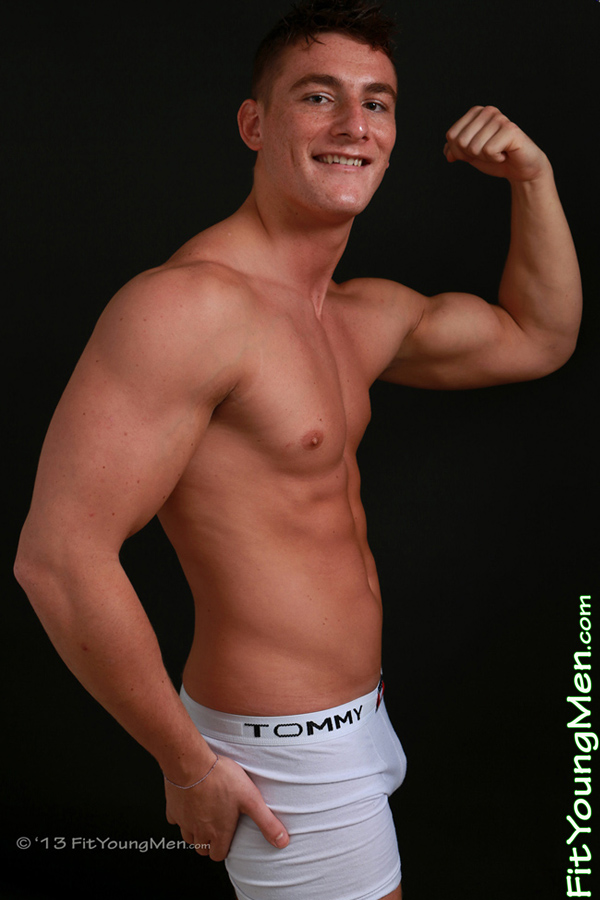 Fit Young Men Model Jack Heston Naked Personal Trainer