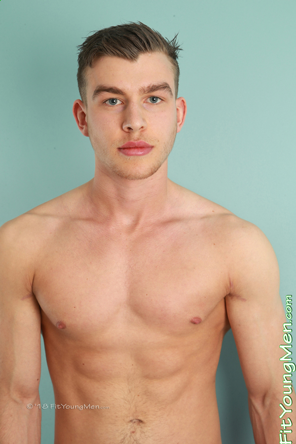 Fit Young Men Model Josh Holmes Naked Personal Trainer
