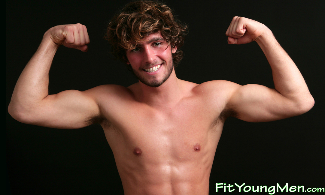 Fit Young Men: Model Alex Beach - Surfing Dude & Fashion Model Alex is Naked - Beautiful Physique
