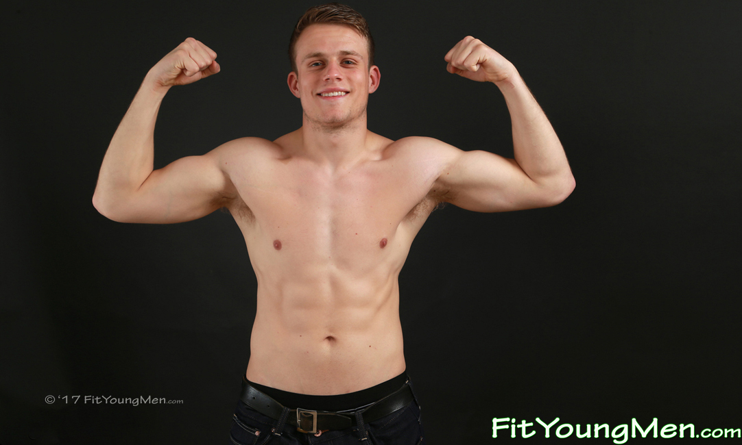 Fit Young Men Model Charlie Smith Naked Mixed Martial Arts