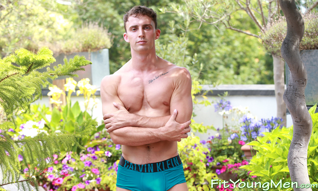 Fit Young Men: Model Carter Lewis - Gymnast - Young Model Carter Shows his Super Athletic Body