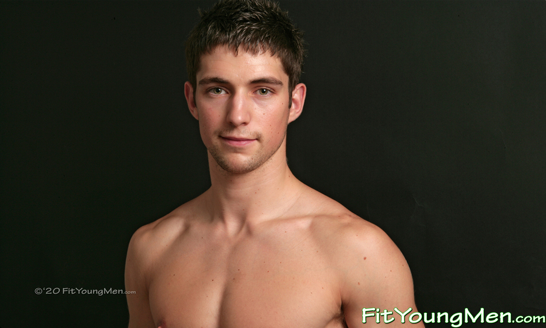 Fit Young Men: Model Joe Black - Triathlete - Super Fit Young Athlete Joe Shows off his Muscular Body