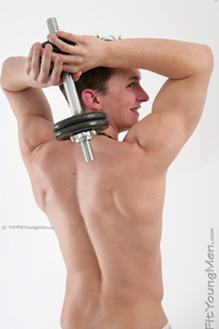Fit Young Men Model Tom Edwards Naked Personal Trainer