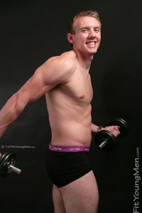 Fit Young Men Model Joe Duncan Naked Personal Trainer