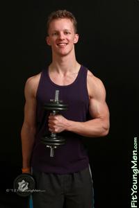 Fit Young Men: Model Sam Ellis - Personal Trainer - Body