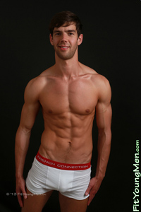 Fit Young Men Model Henry Jones Naked Personal Trainer
