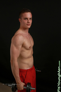 Fit Young Men Model Steven Friar Naked Personal Trainer