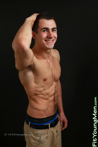 Fit Young Men Model Jamie Donaldson Naked Personal Trainer