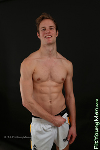 Fit Young Men Model Jon Wright Naked Personal Trainer