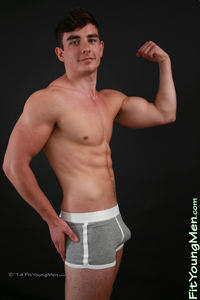 Fit Young Men Model Zane Richards Naked Personal Trainer