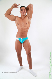 Fit Young Men Model Andrew Huntly Naked Personal Trainer