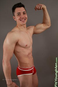 Fit Young Men Model Stefan Gilbert Naked Personal Trainer