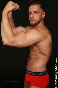 Fit Young Men Model Joey Wills Naked Personal Trainer