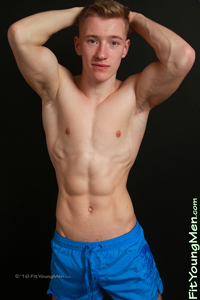 Fit Young Men Model Tom Wills Naked Personal Trainer