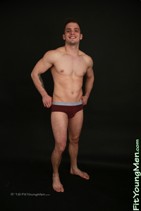 Fit Young Men Model Artur Hoban Naked Personal Trainer