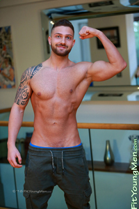 Fit Young Men: Nayden Radev