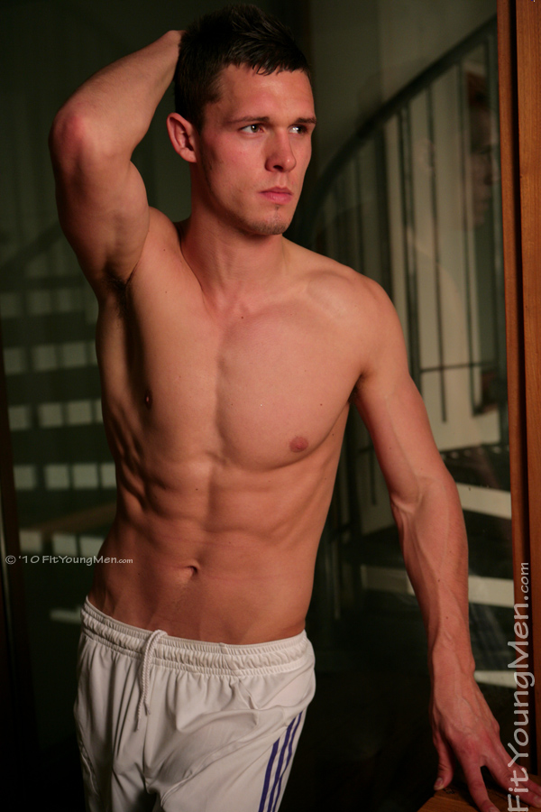 Fit Young Men Model Jamie Stuart Naked Footballer
