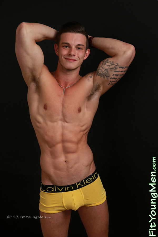 Fit Young Men Model Jake Cavendish Naked Personal Trainer