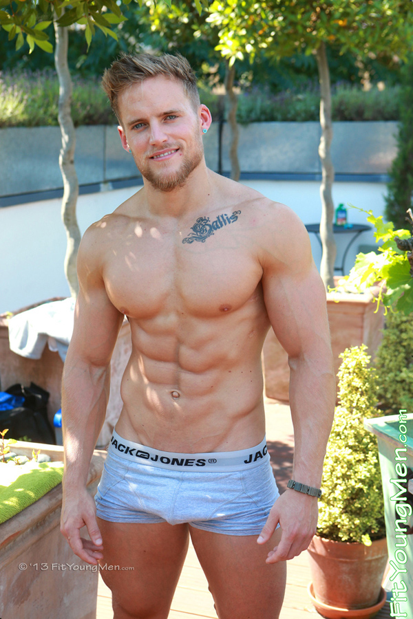 Fit Young Men Model David McKay Naked Personal Trainer