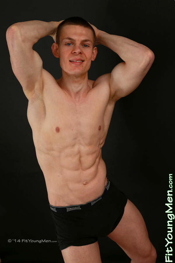 Fit Young Men Model Henry Reft Naked Personal Trainer