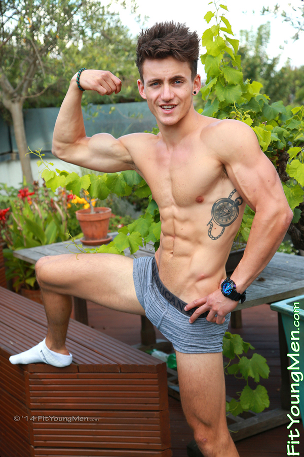 Fit Young Men Model Travis Banfield Naked Sailor