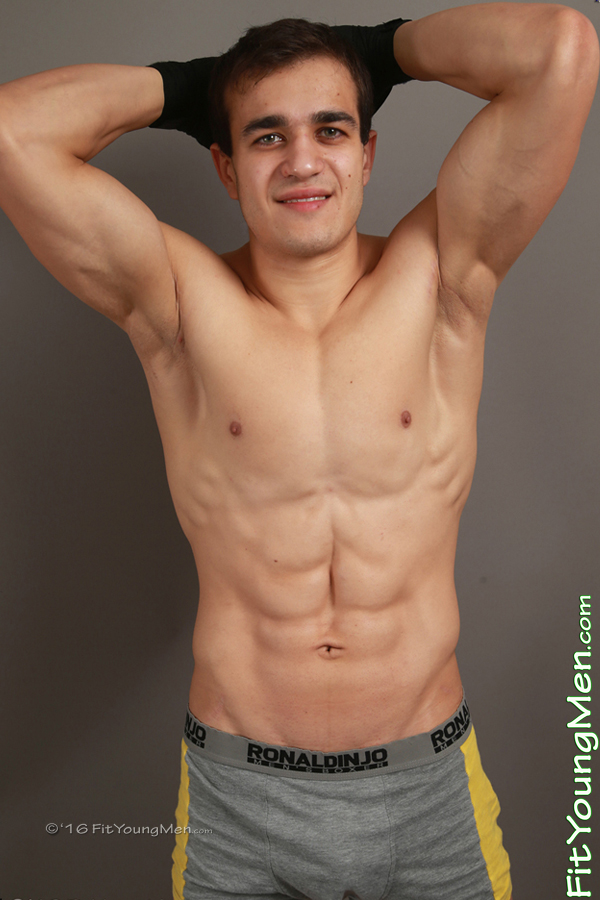 Fit Young Men Model Andreas Bradshaw Naked Mixed Martial Arts