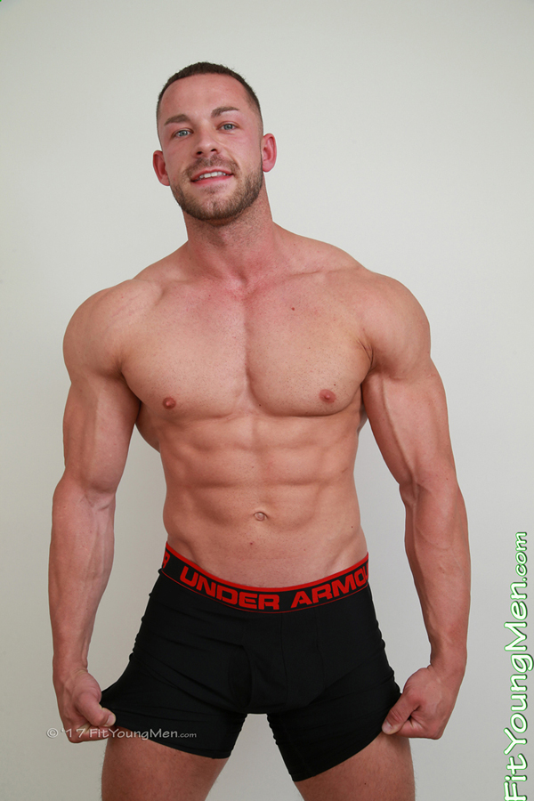 Fit Young Men Model Conall Timpson Naked Personal Trainer